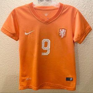 🇳🇱 Netherlands Robin Van Persie #9 Soccer Jersey
